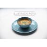 Chichirtma chicken with eggs