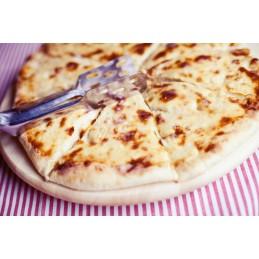Chačapuri sýr špenat celé