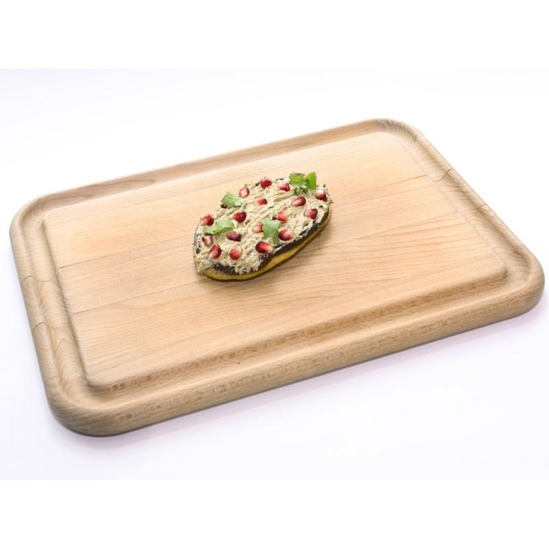 Bezlepkový chlebíček s lilkem a ořechovou pastou